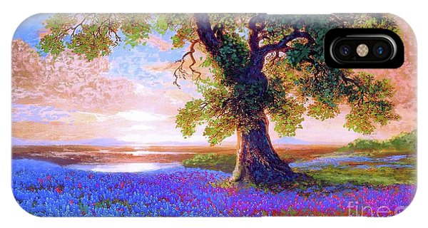 Blossom iPhone Case - Tree Of Tranquillity by Jane Small