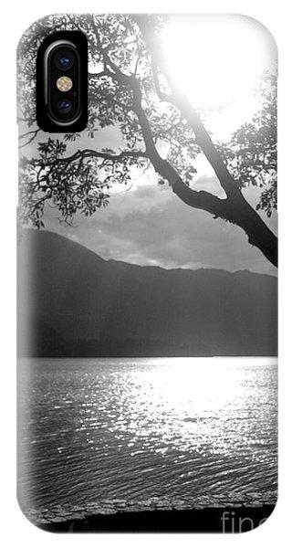 Tree On Lake IPhone Case