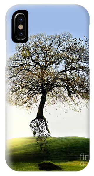 Tree On The Move IPhone Case