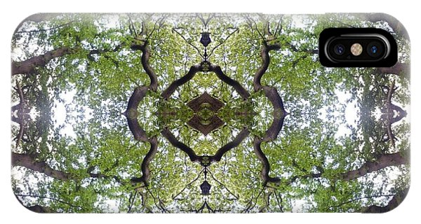 Tree Photo Fractal IPhone Case