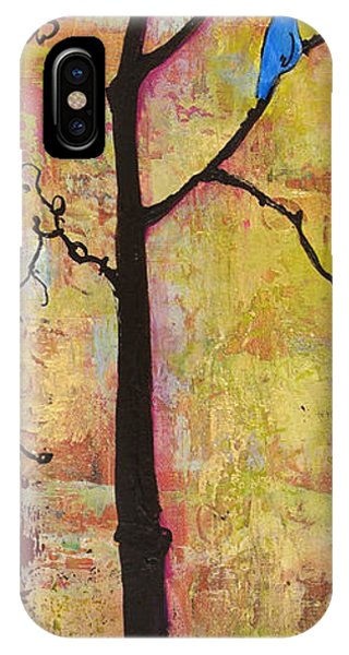 Tree Print Triptych Section 2 IPhone Case