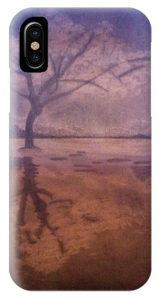 Tree Reflection  IPhone Case