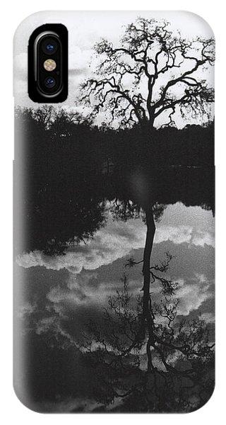 Tree Reflection Sebastopol Ca, IPhone Case