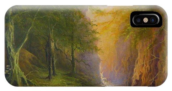 Fairytale Forest Tree Spirit IPhone Case