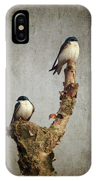 Tree Swallows IPhone Case