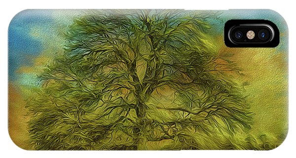 Tree Three IPhone Case