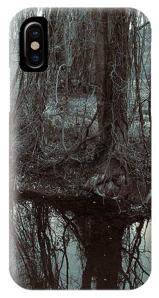 Tree Vines Water IPhone Case