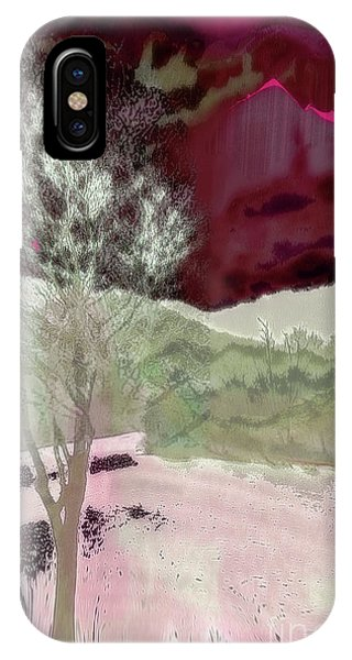 Tree Witness To Lake At Dawn IPhone Case