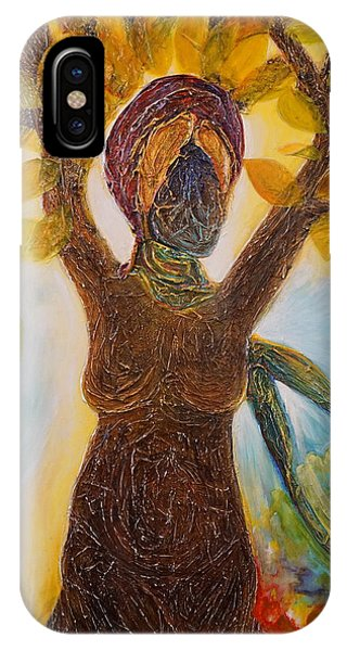 Tree Woman IPhone Case