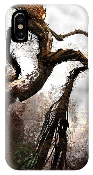 Treeman Phone Case by Alex Ruiz
