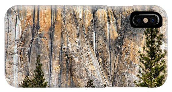 Trees And Granite IPhone Case