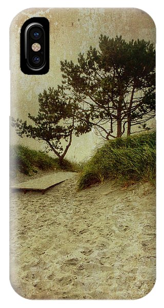 Trees By The Sea IPhone Case