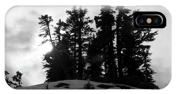 Trees Silhouettes IPhone Case