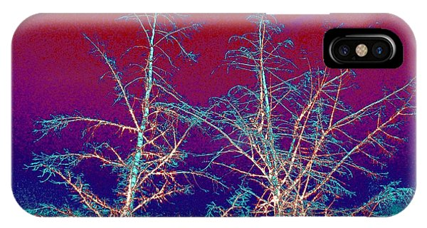 Treetops 4 IPhone Case
