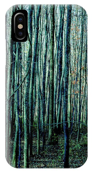 Treez Cyan IPhone Case