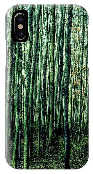 Treez Green IPhone Case