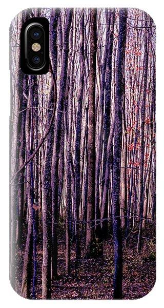 Treez Magenta IPhone Case