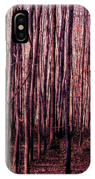 Treez Red IPhone Case
