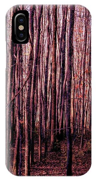 Treez Red IPhone Case