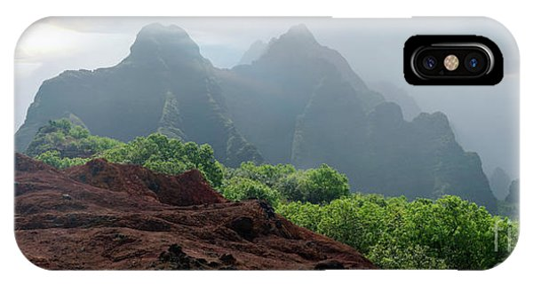 Trek Thru Kalalau Phone Case by RJ Bridges