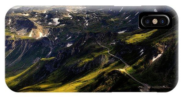 Trekking Thru Austria IPhone Case