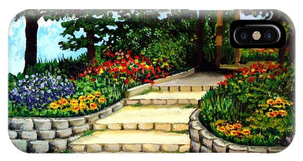 Trellace Gardens IPhone Case