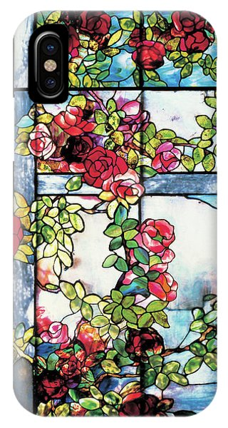 Trellis Flame Tree Edition Phone Case by Louis Comfort Tiffany