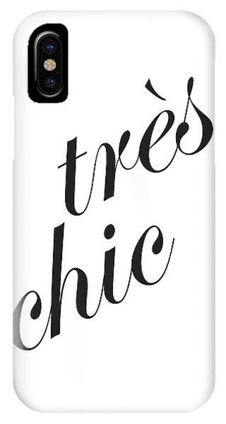 Tres Chic IPhone Case