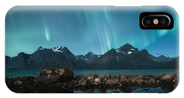 Panorama iPhone Case - Trespassing by Tor-Ivar Naess