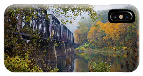 Trestle In Autumn IPhone Case