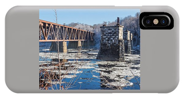 Trestle In Winter IPhone Case