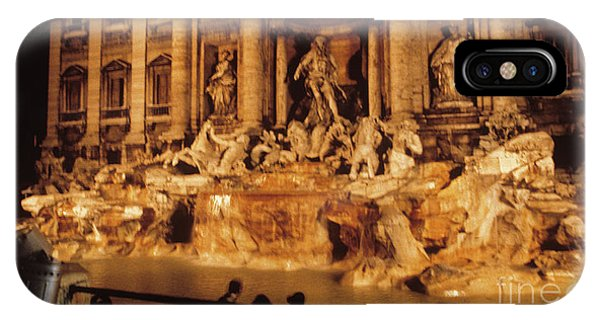 Trevi At Night IPhone Case