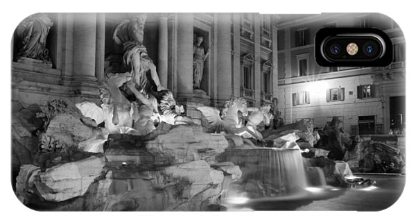 Trevi Fountain Night 2 IPhone Case