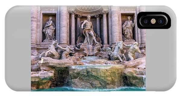 Trevi Fountain, Roma, Italy IPhone Case