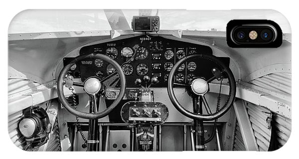 Tri-motor Cockpit - 2017 Christopher Buff, Www.aviationbuff.com IPhone Case