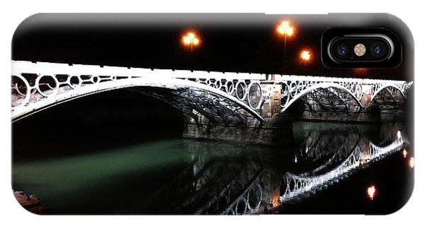 Triana Bridge IPhone Case