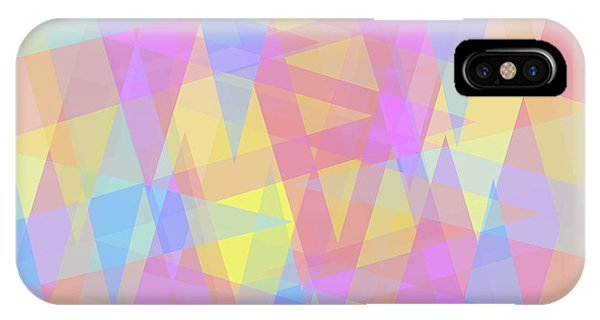 Triangle Jumble 2 IPhone Case