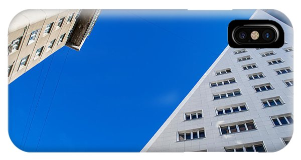 Triangle Modern Building IPhone Case