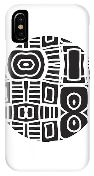 Tribal iPhone Case - Tribal Ball- Art By Linda Woods by Linda Woods