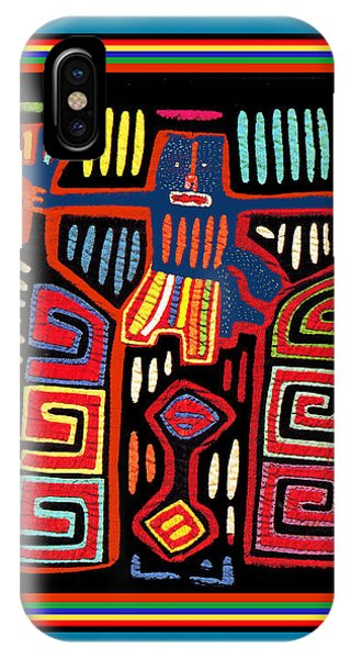 Tribal Woman Fanning Stove IPhone Case