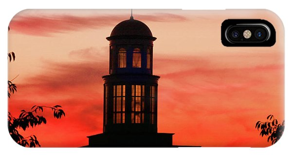 IPhone Case featuring the photograph Trible Library Dome At Christopher Newport University by Ola Allen