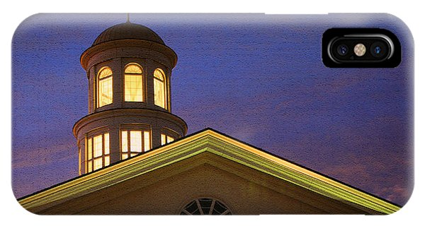 IPhone Case featuring the photograph Trible Library Dome by Ola Allen