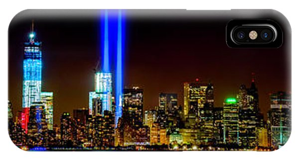 Tribute In Light From Bayonne IPhone Case