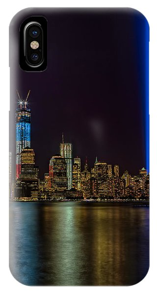 Tribute In Lights Memorial IPhone Case