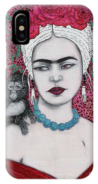 IPhone Case featuring the mixed media Tribute by Natalie Briney