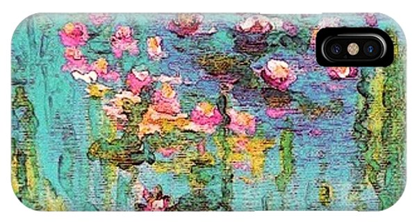 Tribute To Monet II IPhone Case