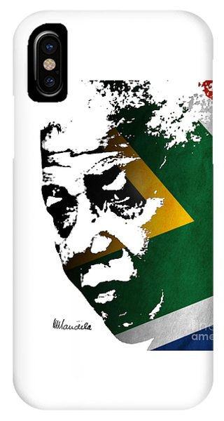 tribute to Nelson Mandela IPhone Case