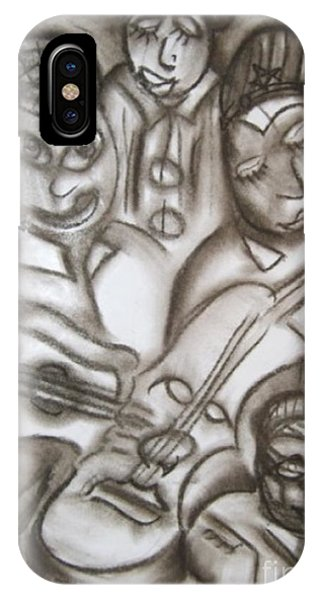 Tribute To The String Bass IPhone Case