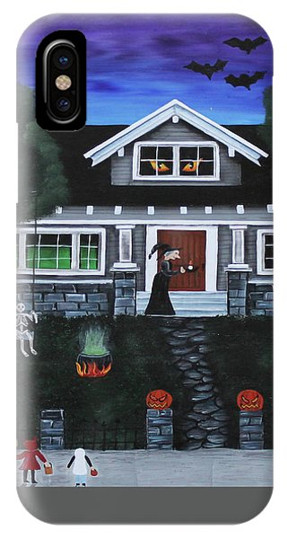 Trick-or-treat IPhone Case