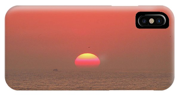 IPhone Case featuring the photograph Tricolor Sunrise by Robert Banach